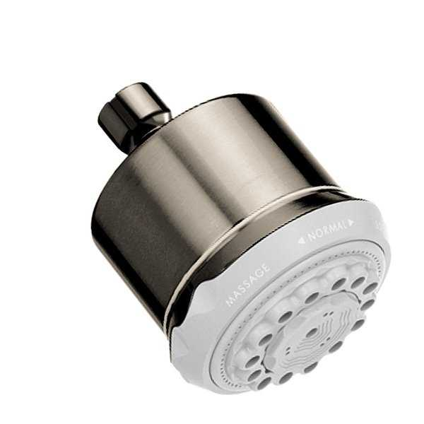 Hansgrohe 28496 Clubmaster Multi Function 2.5 GPM Shower Head - N/A