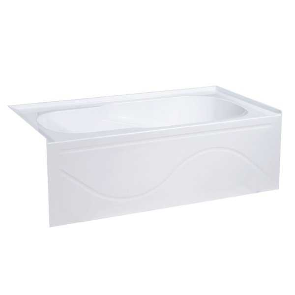 Swiss Madison Alcove Soaking Tub with Apron Skirt 60/30 Right Hand