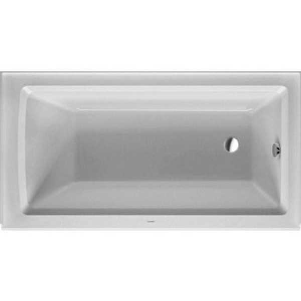 Duravit White Alpin Architec Soaking Bathtub