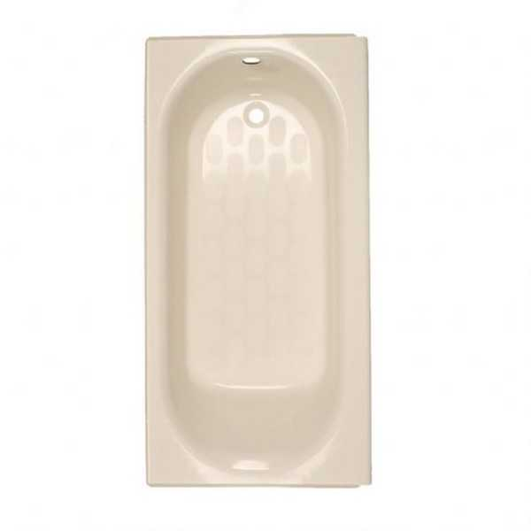 American Standard Princeton 2391.202.222 Linen Stainless Steel Soaking Bathtub - Off White