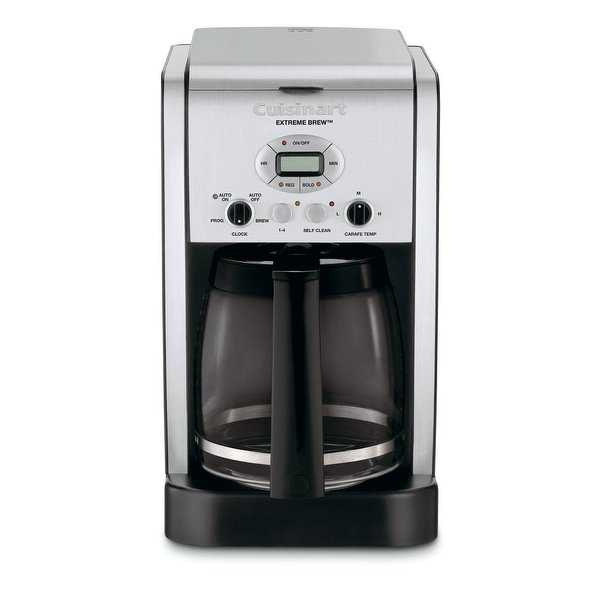 Cuisinart DCC-2650 Brew Central 12-Cup Programmable Coffeemaker, Silver