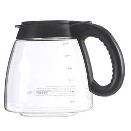 Mr Coffee ISD13 Replacement Decanter, 12 Cup, Black