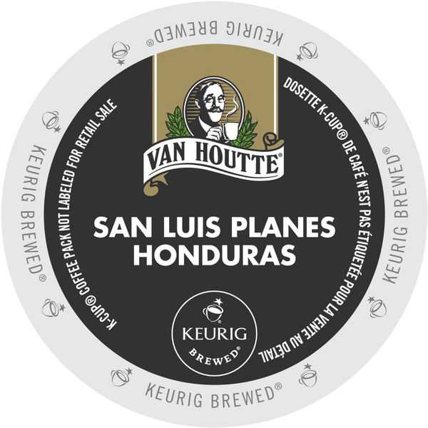 Van Houtte Honduras Extra Bold Coffee, K-Cup Portion Pack for Keurig Brewers