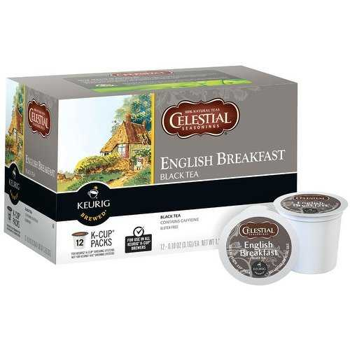 Keurig 109866 Celestial Seasonings English Breakfast Tea