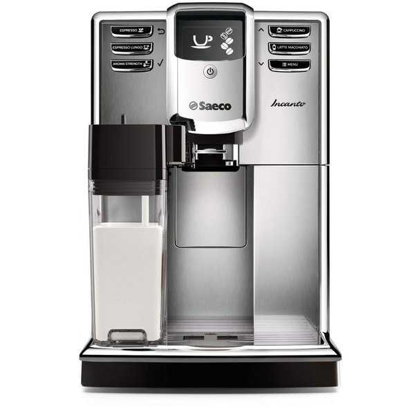 Saeco Incanto Carafe HD8917/48 Super-Automatic Espresso Machine Stainless Steel